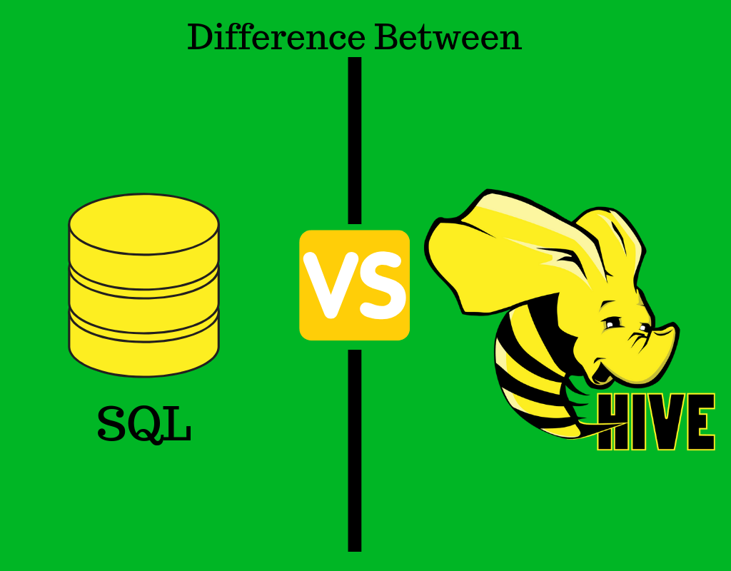 Difference Between SQL and HiveQL