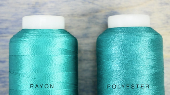 Difference between Rayon and Polyester