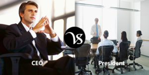 Difference between President and CEO
