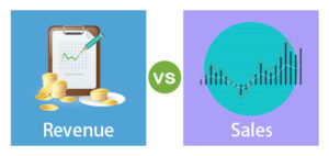 Difference between Sales and Revenue