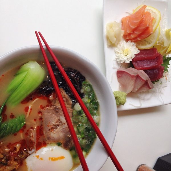 Sashimi (Difference between Nigiri and Sashimi )