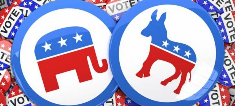 Difference between Democrats and Republicans