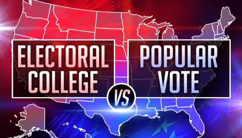 Difference between Electoral Vote and Popular Vote