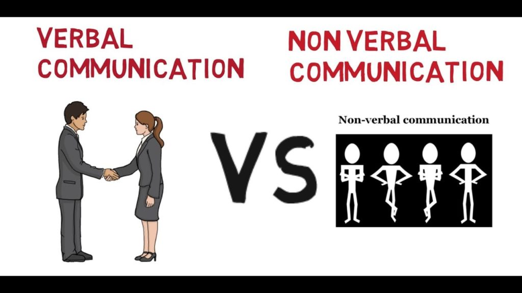 difference between verbal and nonverbal communication