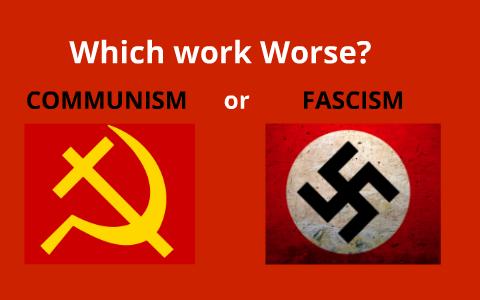 fascism vs communism