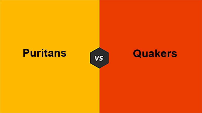 Difference Between Puritans and Quakers