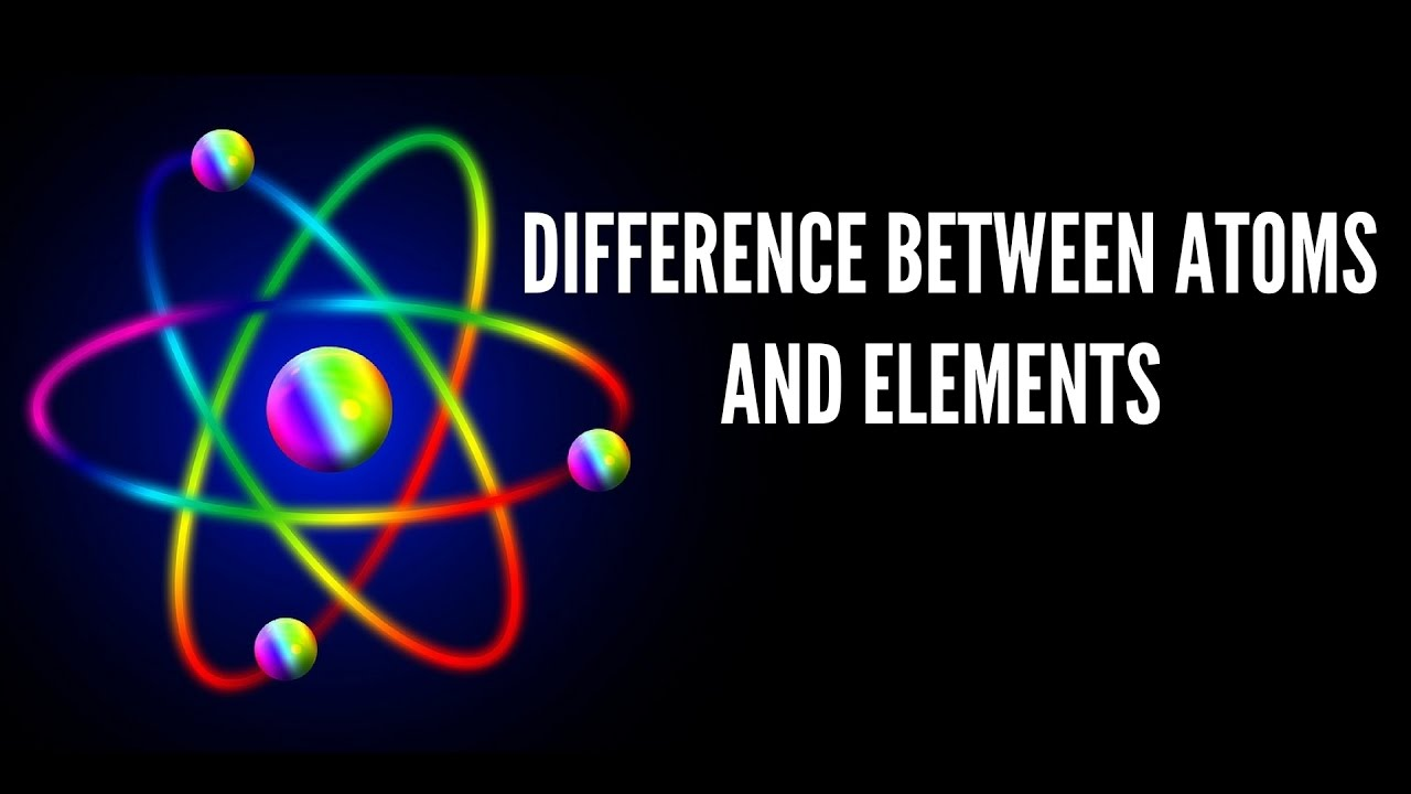 Difference Between Atom and Element